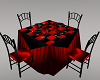Black and Red Play Table