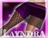 *L* Rebel Purple Skirt