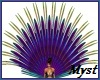 Peacock Burlesque Tail