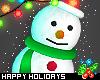 d. cute snowman