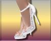 Sari^White Heels