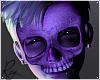 Purple Glow Skelly Mask