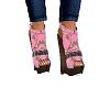 Pink Camo Wedges