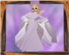 Lilac Chiffon Shawl