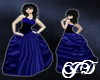 Sapphire Blue Gown