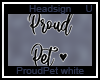 Proud Pet e White