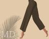 Brown Linen Pants