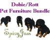 Dobie/Rott Puppie Bundle