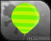$lu Balloon! Lime Green