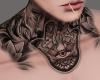 Seeing Neck Tattoo
