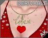 ~AK~ Love Heart Necklace
