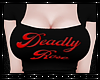 Deadly Rose Top