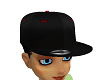 Red No Hair Hat Cap