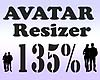 Avatar Resizer 135%