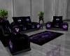 Purple Harley Sofa