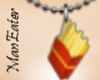 ! French Fry Necklace