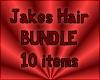 Jakes Hair Bundle of 10