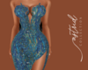 A I Waves Gown