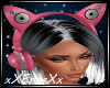 Neko Headphone Pink