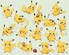 Many Pikachu Letter i