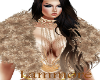 (CL) Fur Coat Gold