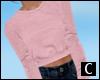 C` Pink Sweater