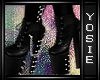 ~Y~Dora Spike Boots