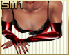 SM1 Latex Gloves Red f/l