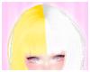 SK| Yellow/White Bangs 2