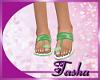 Kids Mint Sandals
