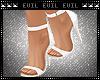 Cream & White Heels