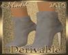 !a DRV Suede Short Boots
