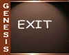 GD EXIT SIGN