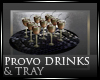 [Nic]Provo Drinks & Tray