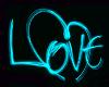 LOVE Teal Trigger
