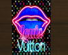 LV glowingneon Poster