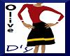Olive Dress/Oliva-popeye