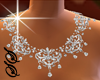 !SS Glam Diamond necklac