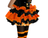 Child's OrangeBlk Tutu