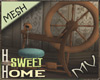 (MV) Home Spinning Wheel