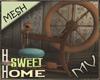 (MV) Home Spinning Wheel