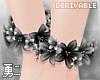 Y' Drv. Flower Anklets