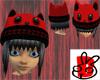 M & M PJs Cat Hat Hair B