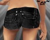 ~CR~ Black Jean Shorts