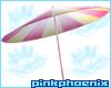 Pink Lemonade B Umbrella