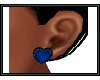 {G} Heart Earrings