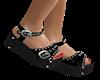 c❤Black Sandals