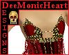 Empress Petite Red Gold