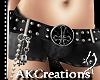 (AK)Inverted cross belt