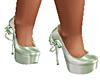 new green pumps